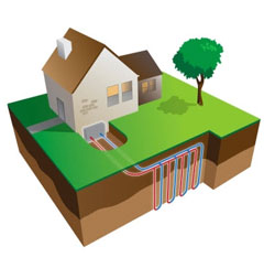 geothermal heating diagram