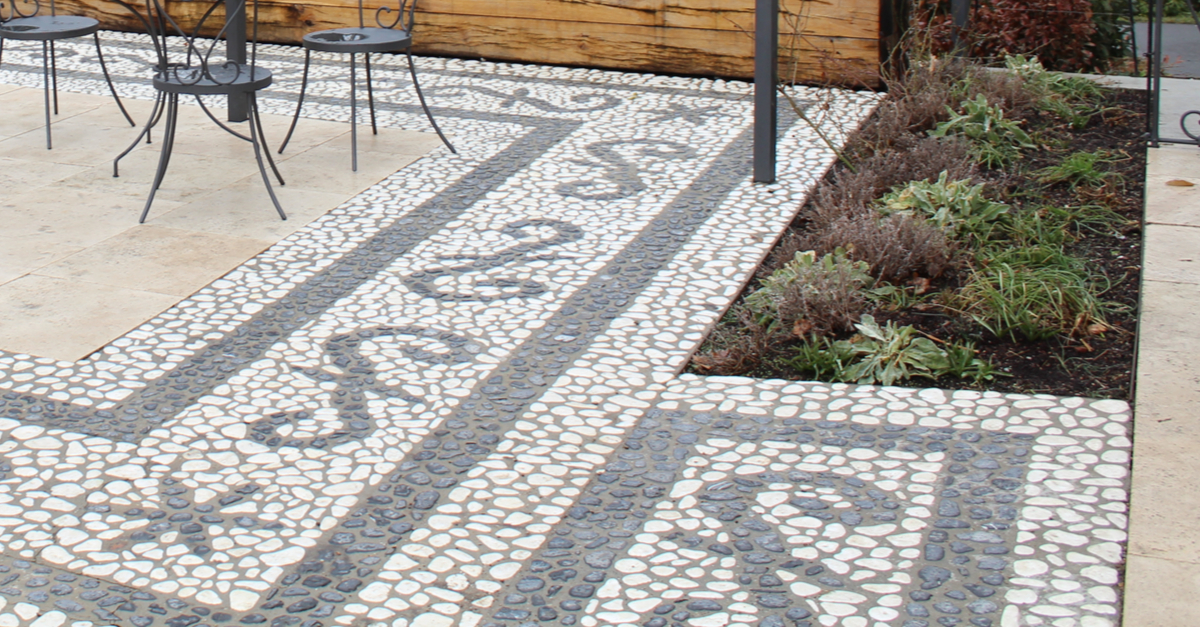 moroccan stone path example