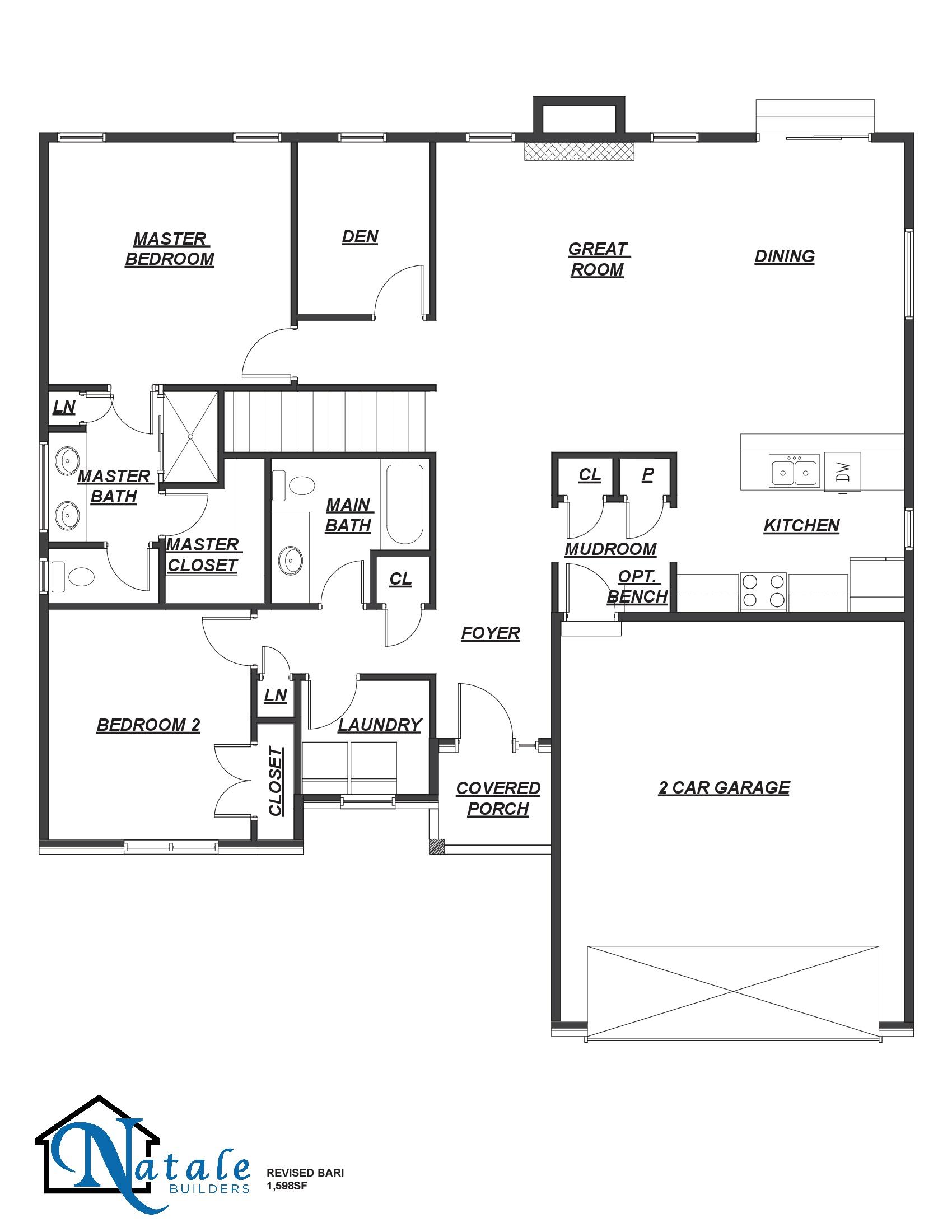 [FP]The Bari Floor Plan