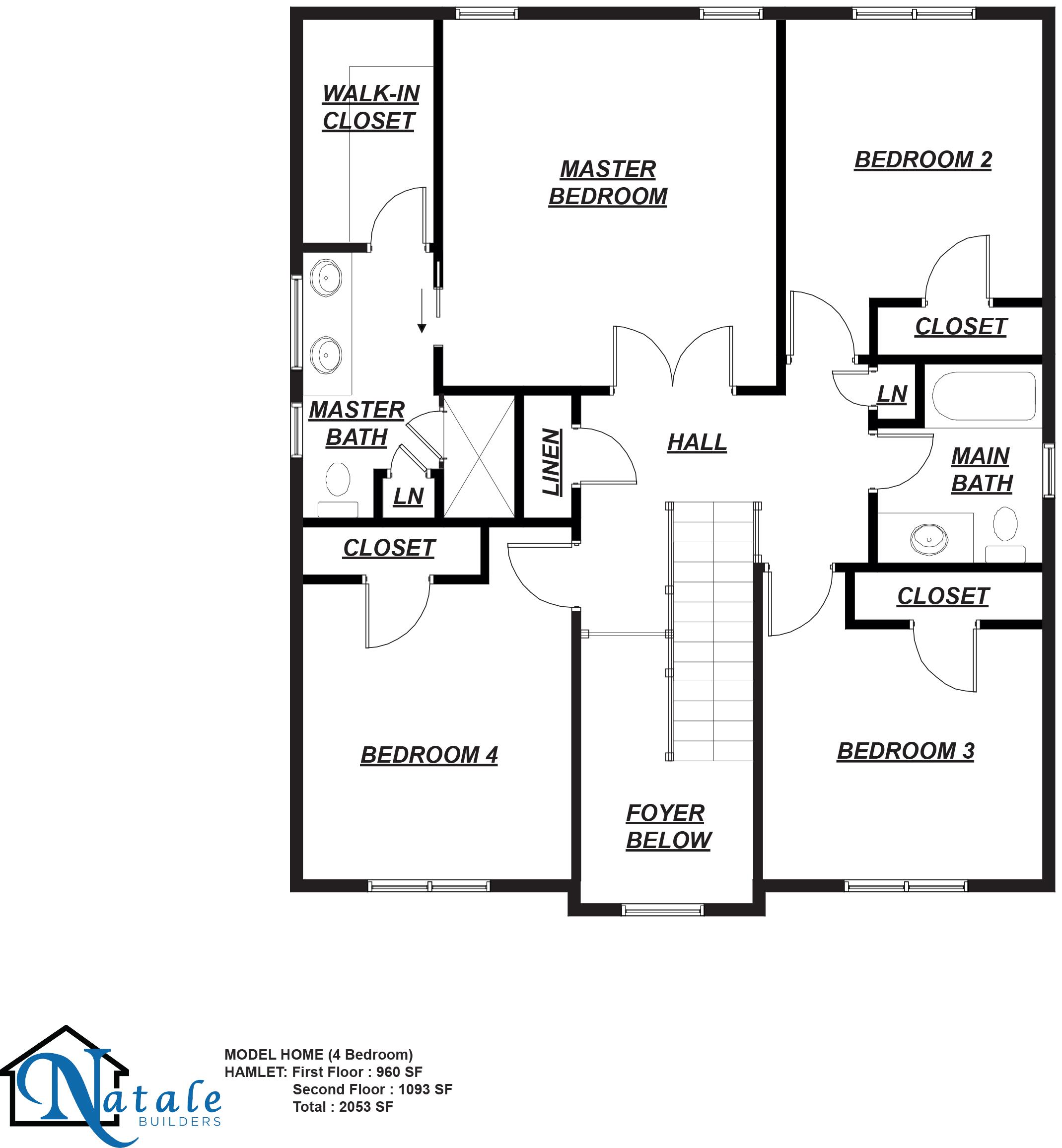 [FP]The Hamlet Floor Plan