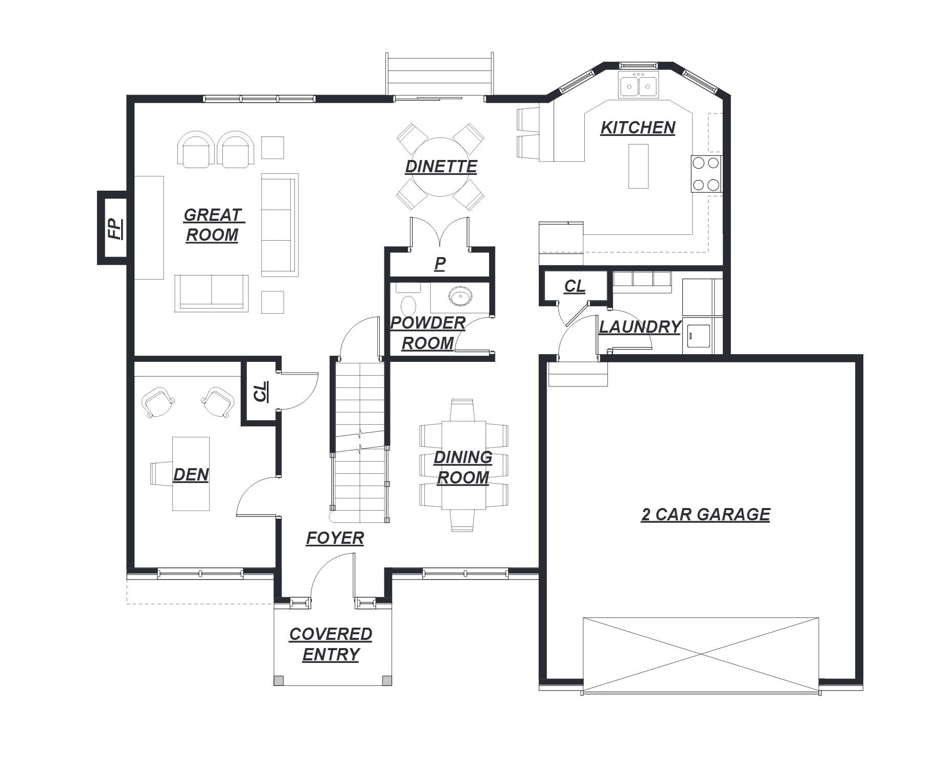 83 Avalon Meadows  Floor Plan