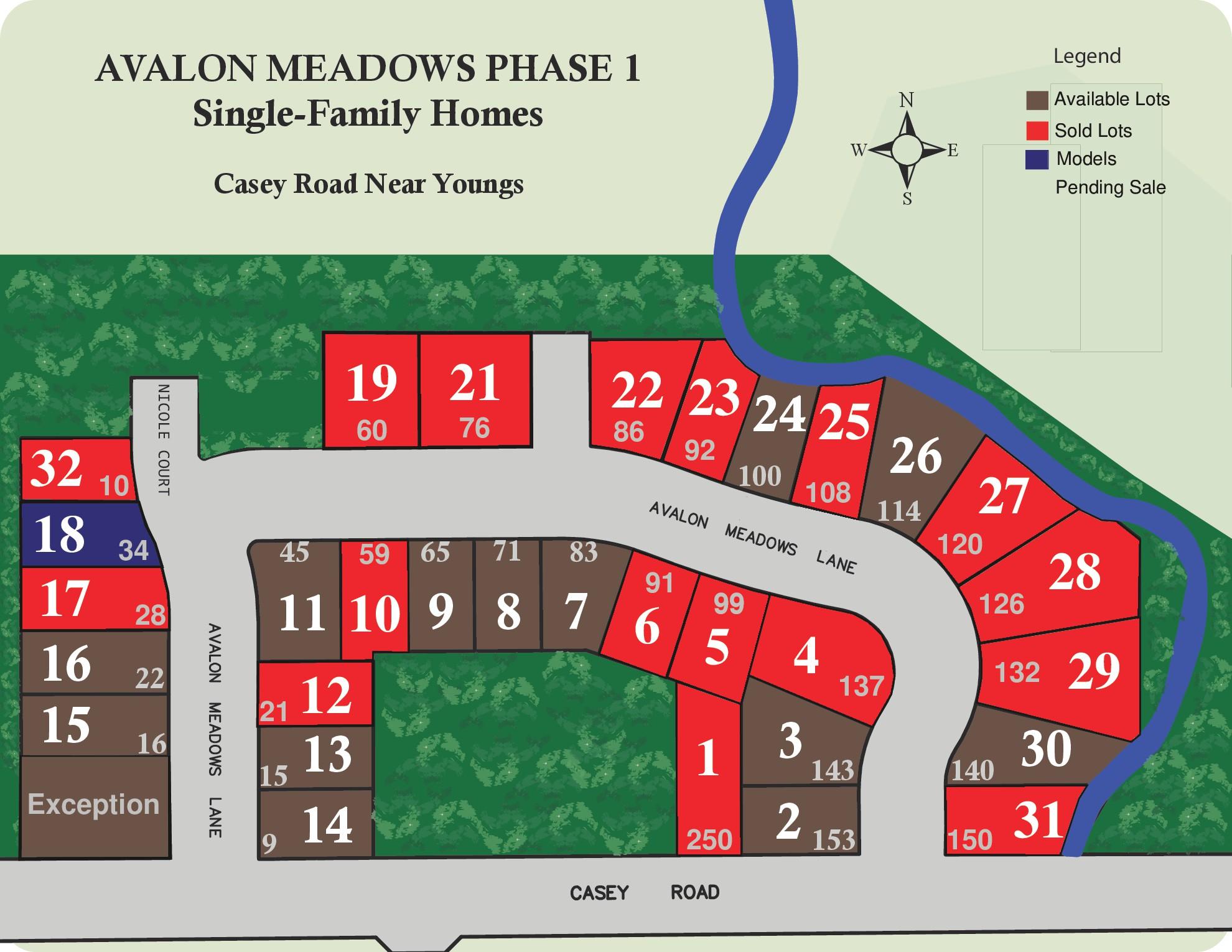 9 Avalon Meadows Ln Development Plot
