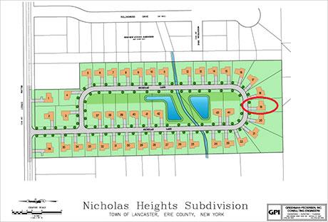 36 Nicholas Lane Development Plot