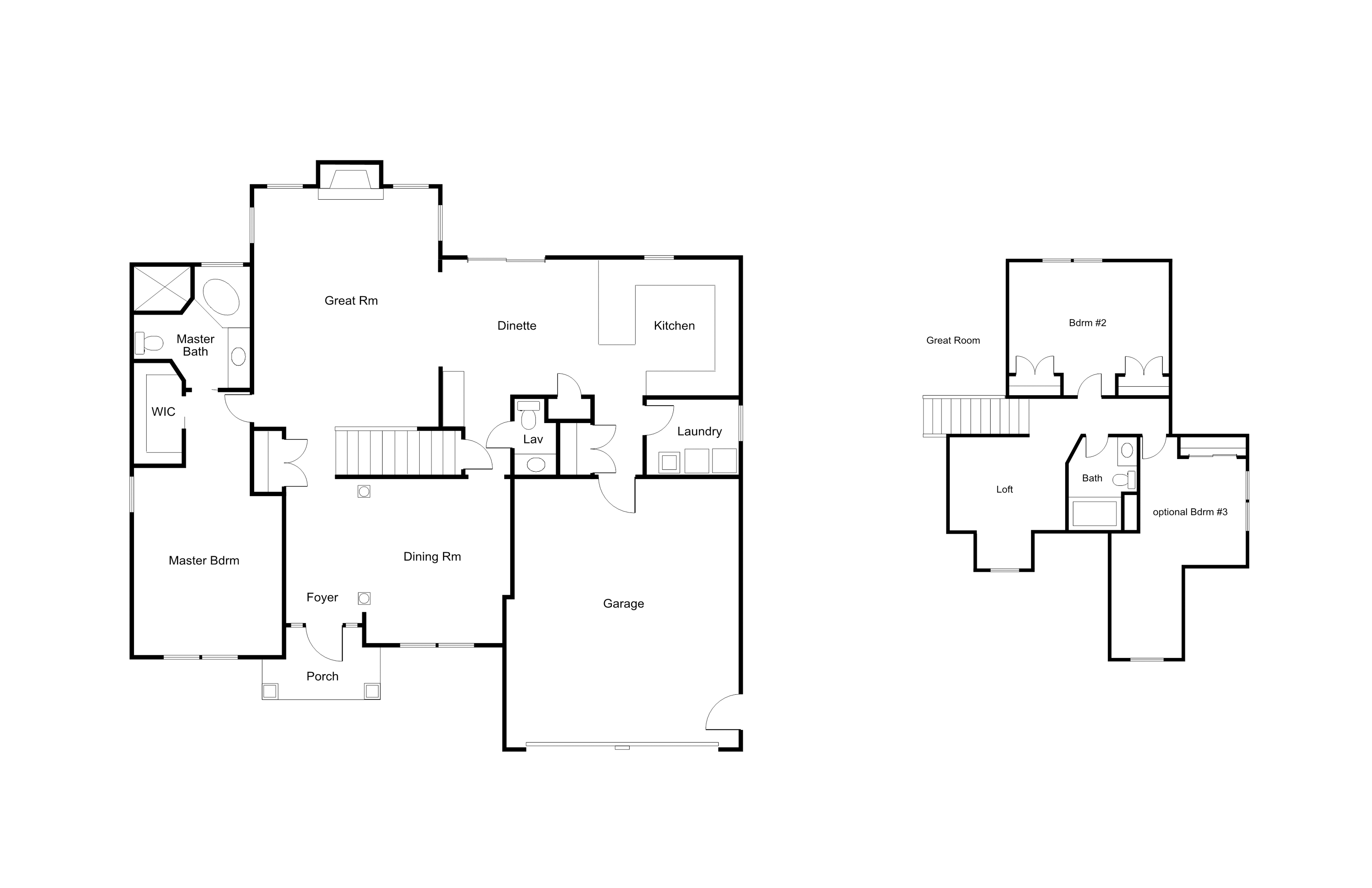 [FP]The Greenbriar Floor Plan