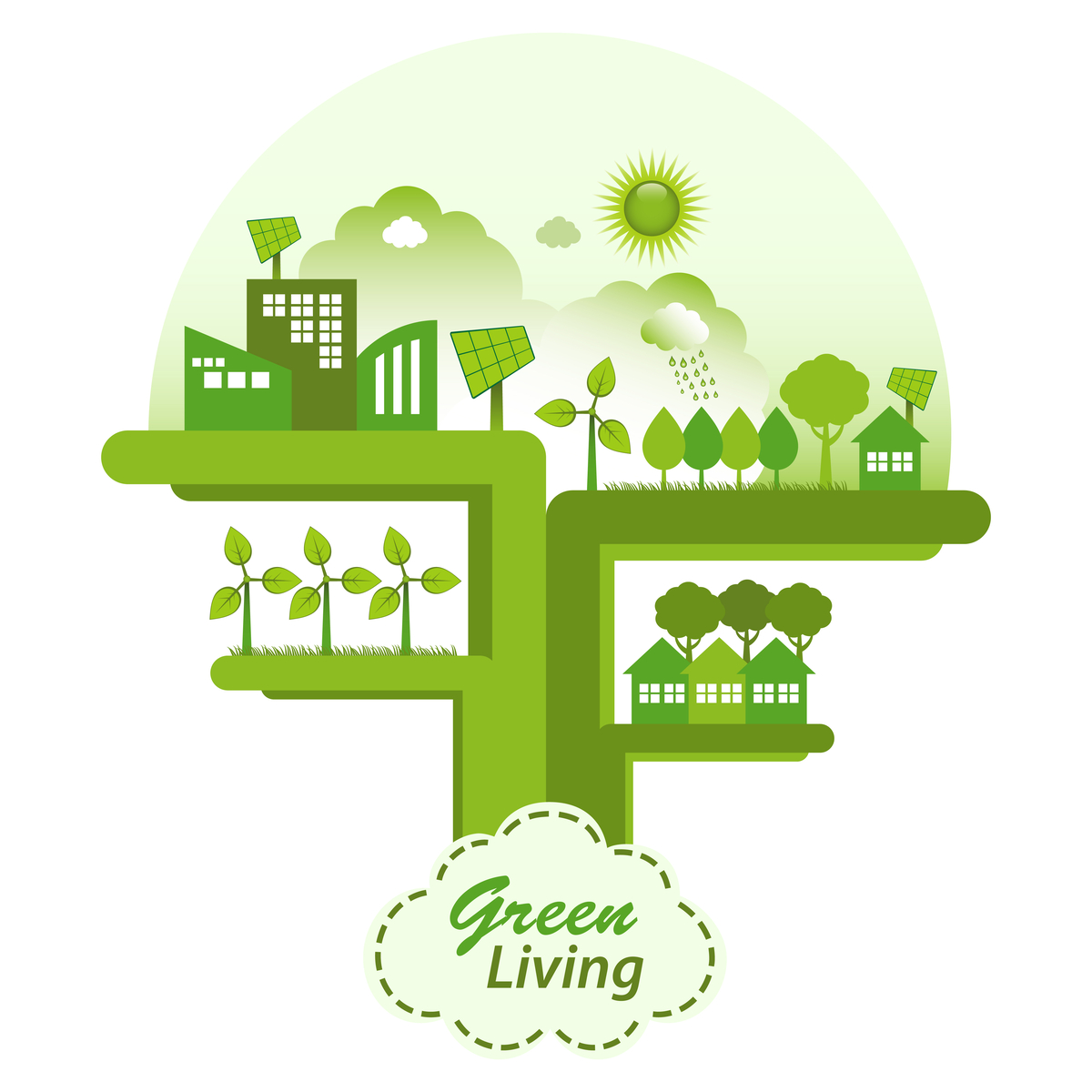 Green Living icon