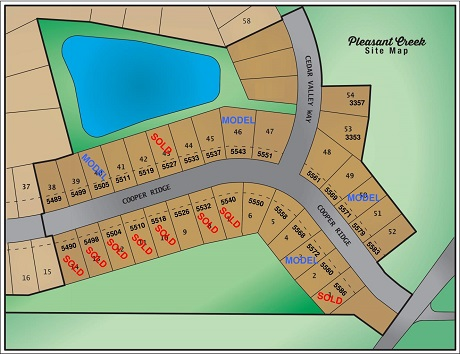 5586 Cooper Ridge Development Plot