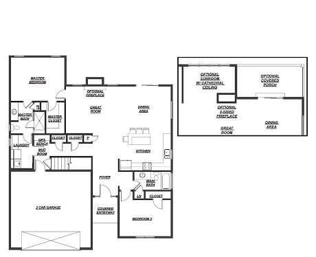 5586 Cooper Ridge Floor Plan