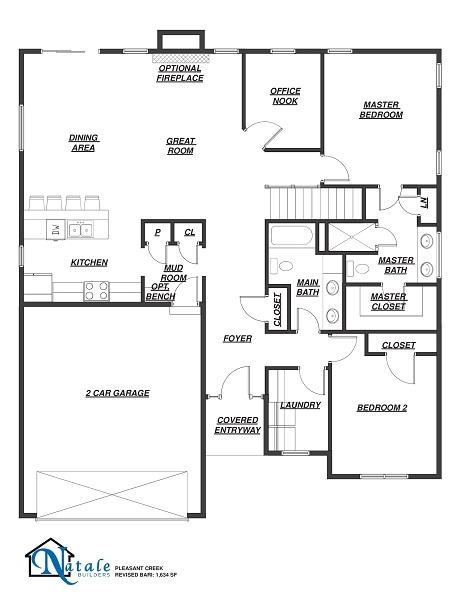 5543 Cooper Ridge Floor Plan