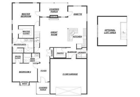 165 Nicole Court Floor Plan