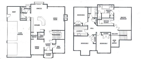 5984 Corrine Ave Floor Plan