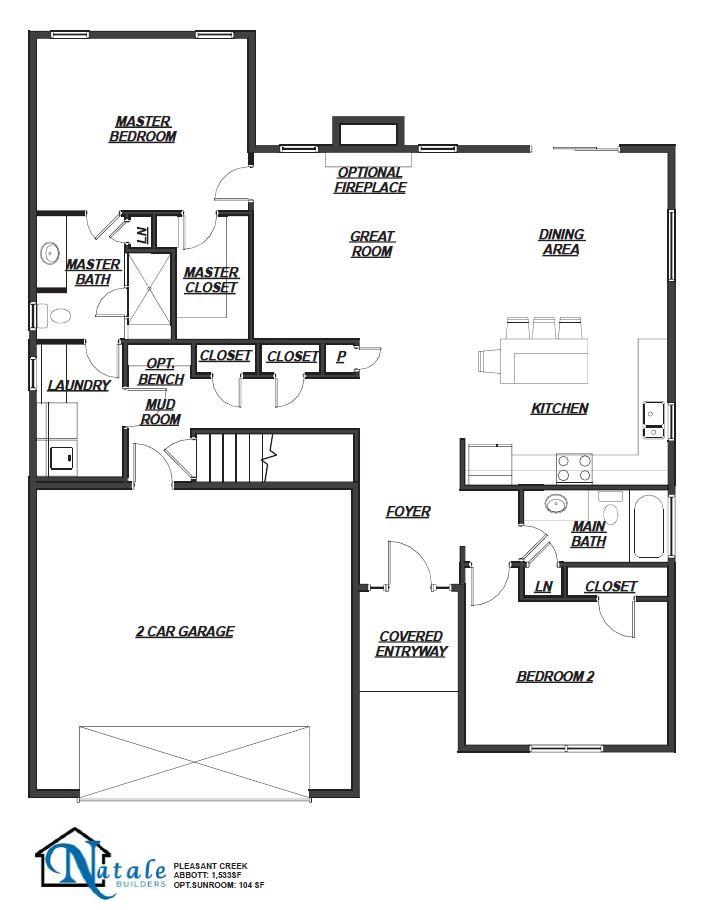 5572 Cooper Ridge Floor Plan
