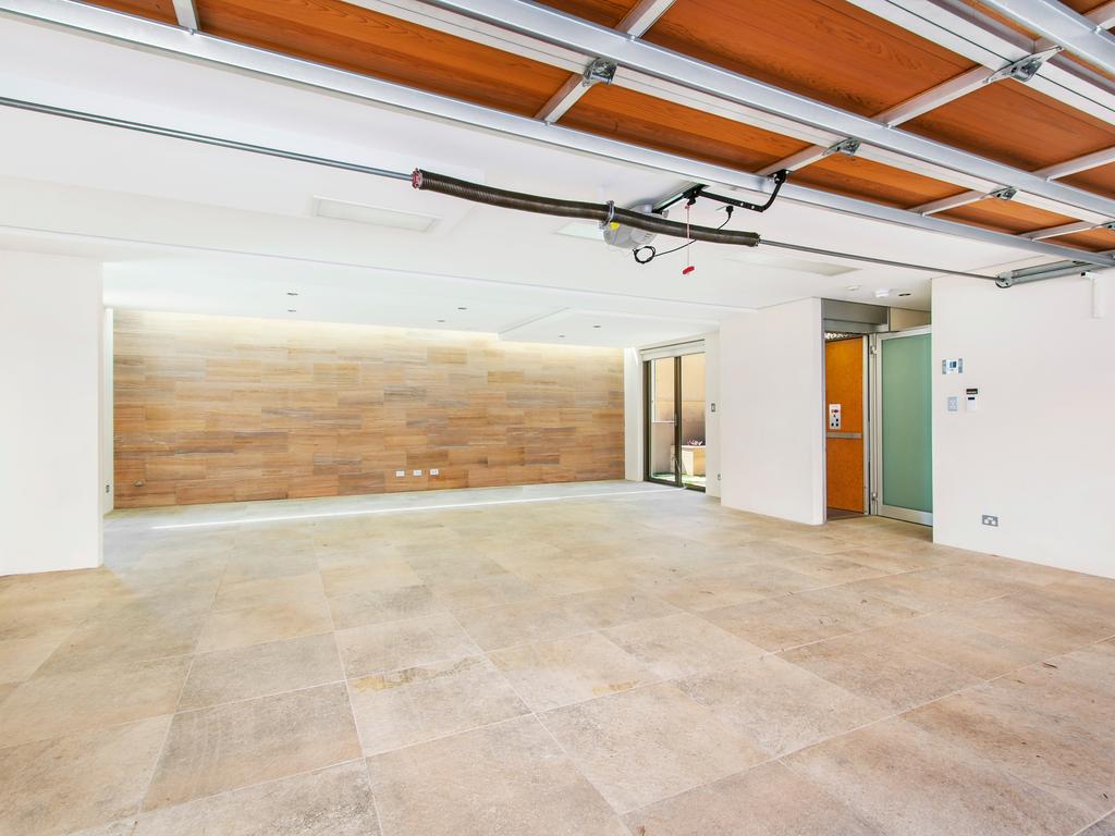 redone garage interior