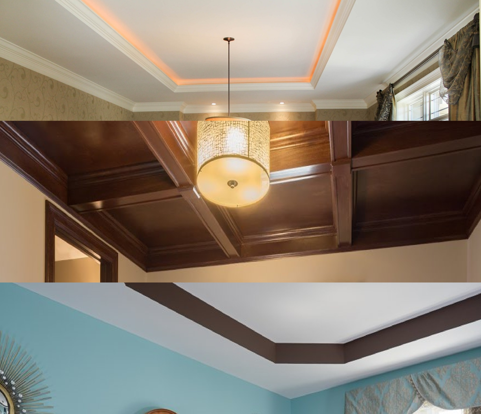 step ceiling examples