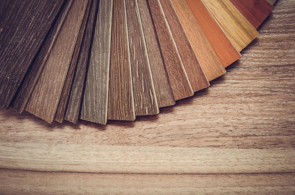 Different hardwood floor colors