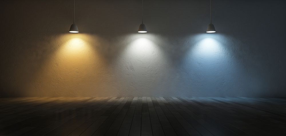warm, cool and neutral lighting examples