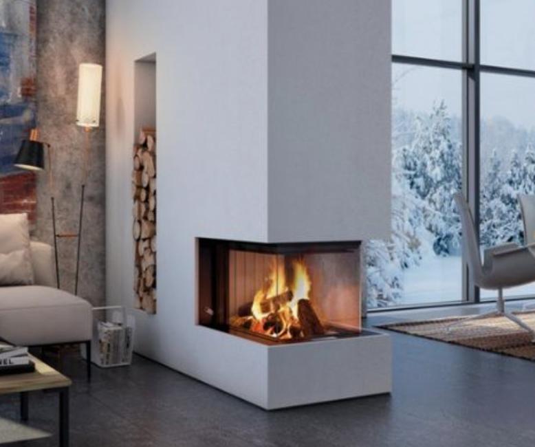 2 sides fireplace - 3 sides