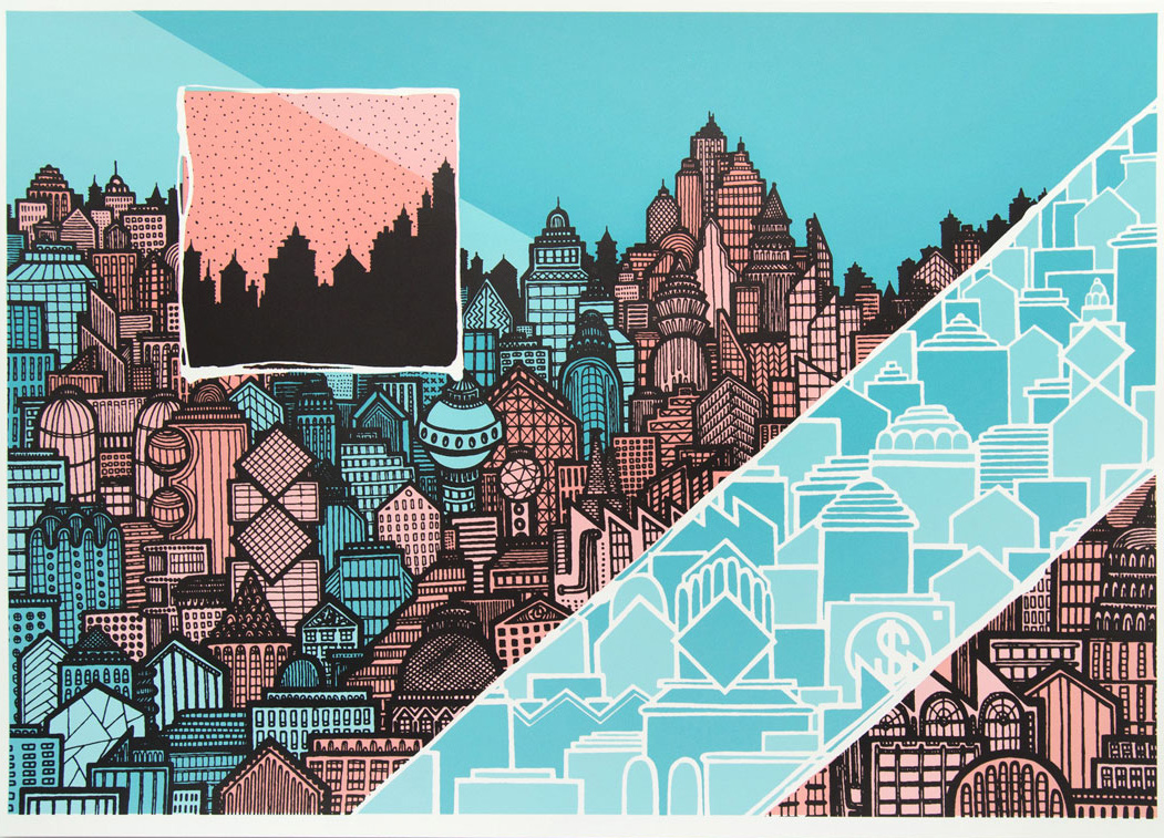 A split city