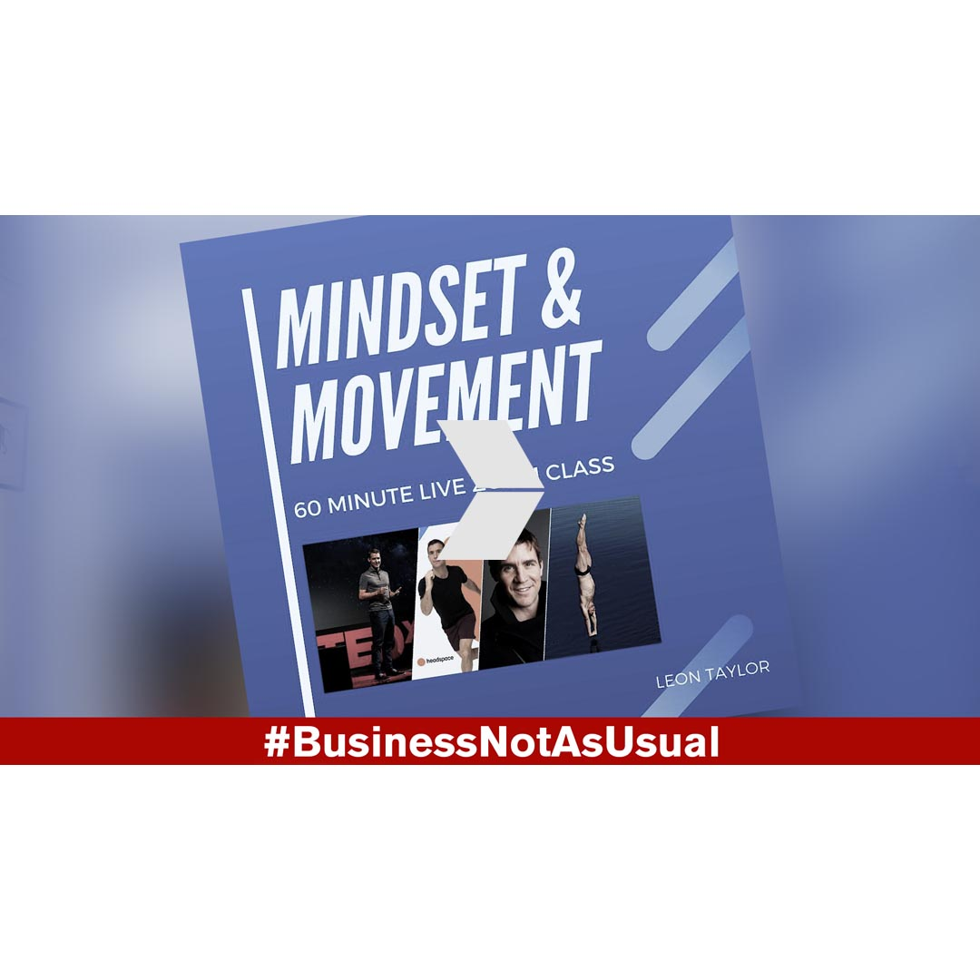 Olympic Diver Leon Taylor - Mindset and Movement - Business Videos London