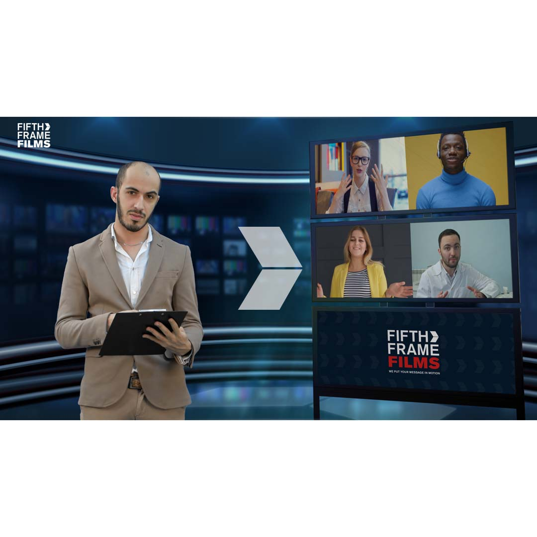 Sneak peek Broadcast quality online video conference