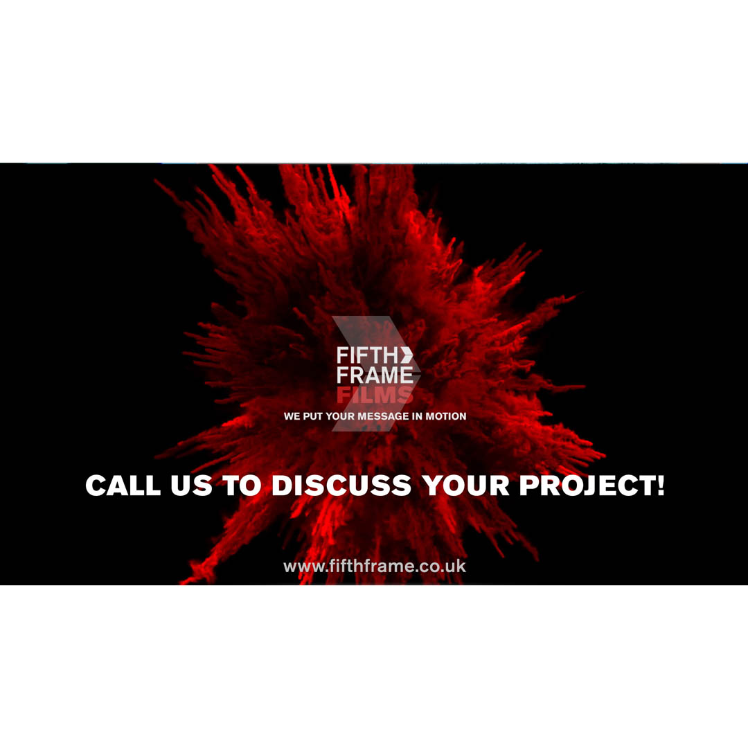 Fifth Frame Films services - Video Production Company London