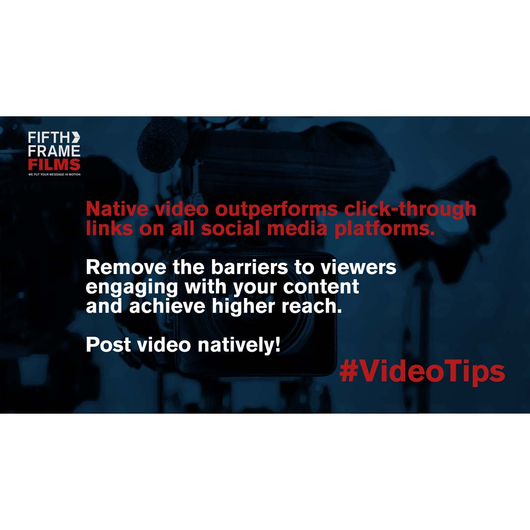 Native Video for social media marketing