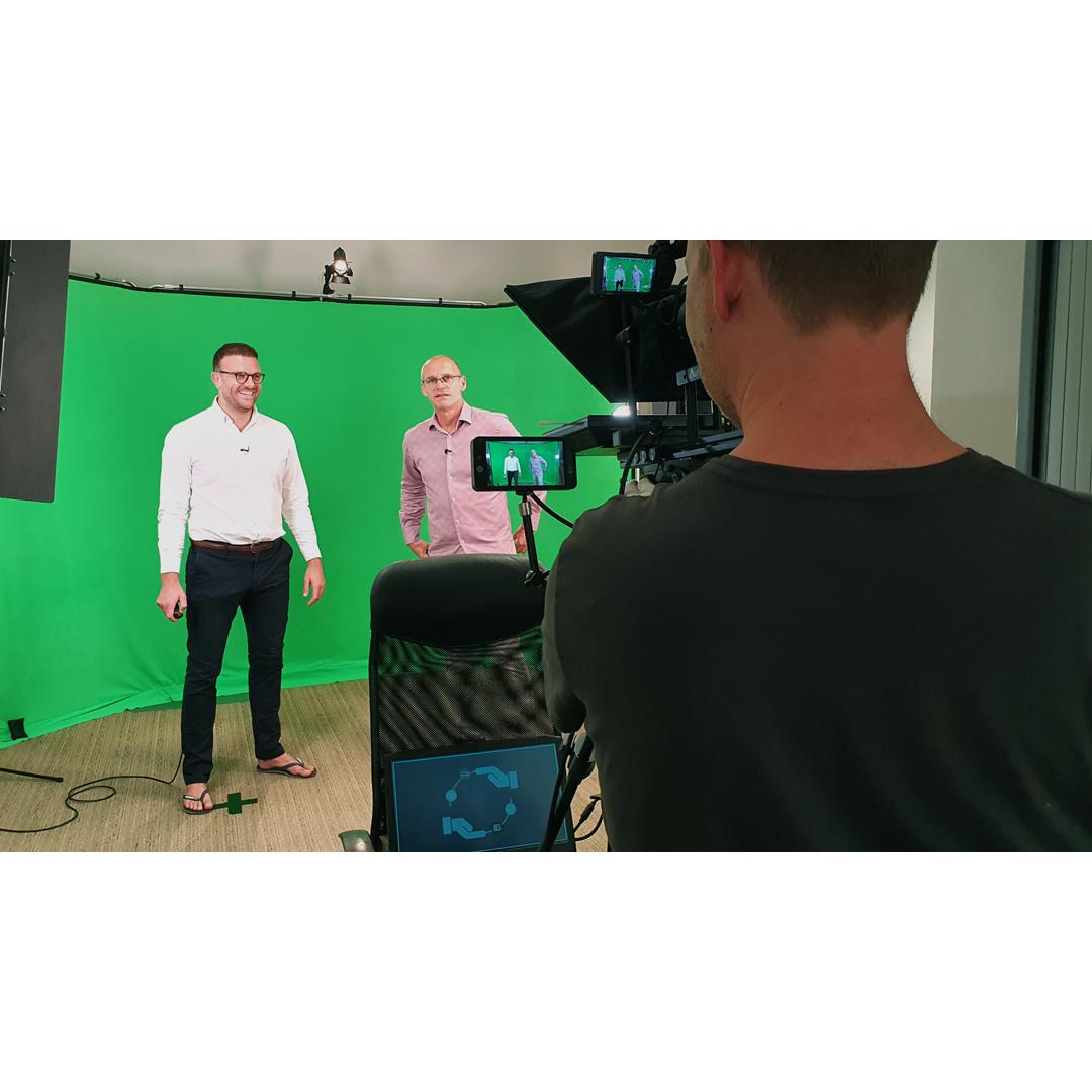 Greenscreen filming - video production London