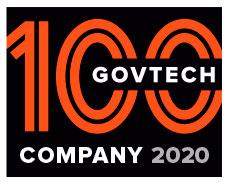GovTech 100 Company 2019 Badge