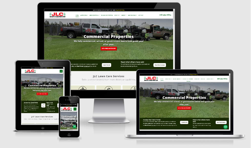 lawn care websites brainerd mn