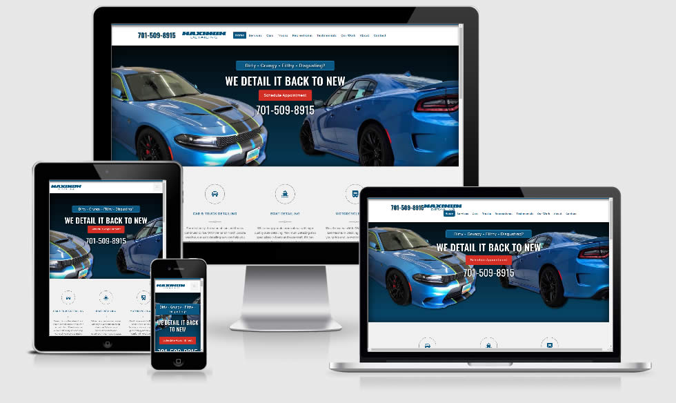 Automotive Detailing Website
