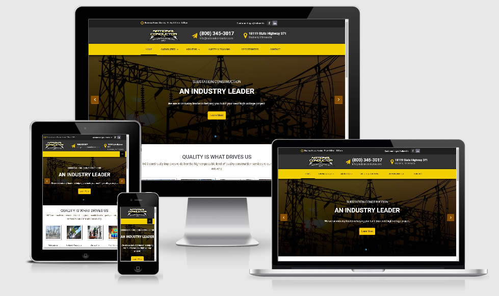 Power Industry Website