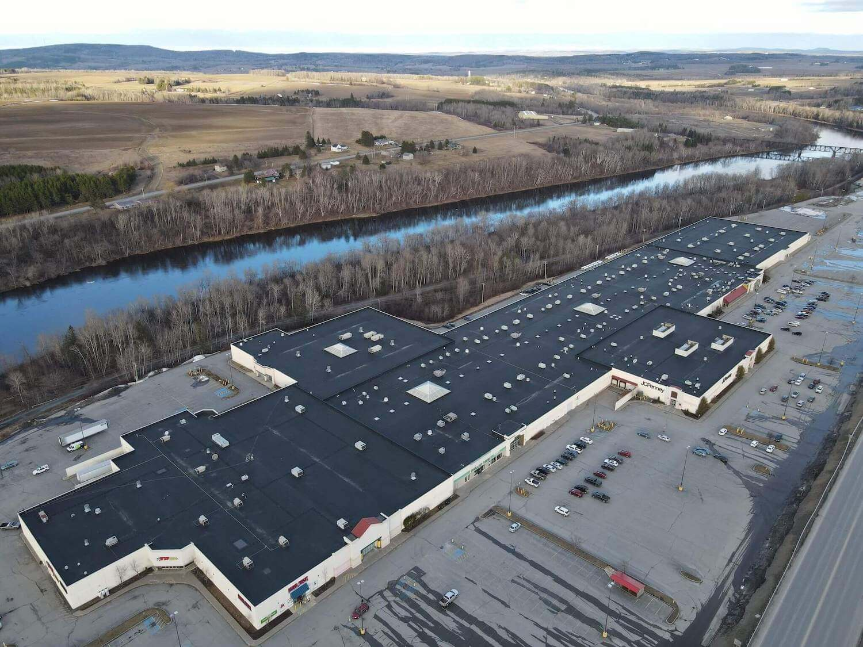 Aroostook Centre Mall aerial photo