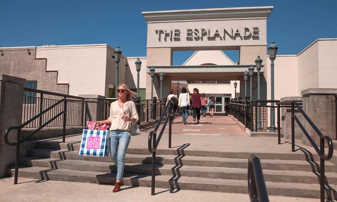 The Esplanade front entrance