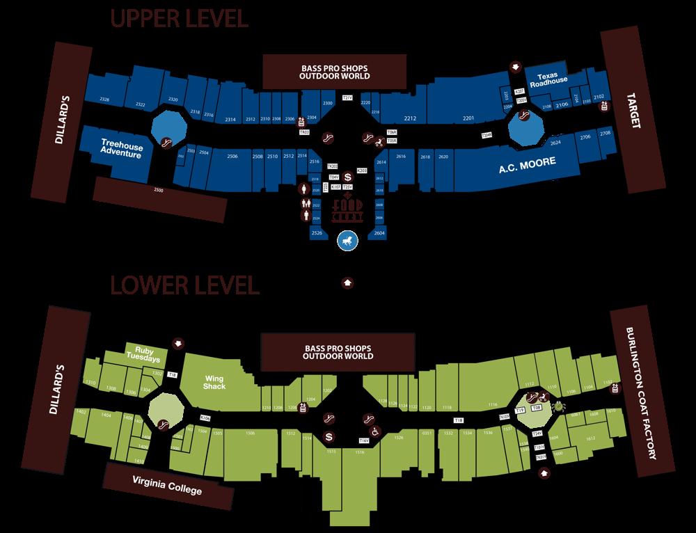 Map Of Georgia Mall.Kohan Retail