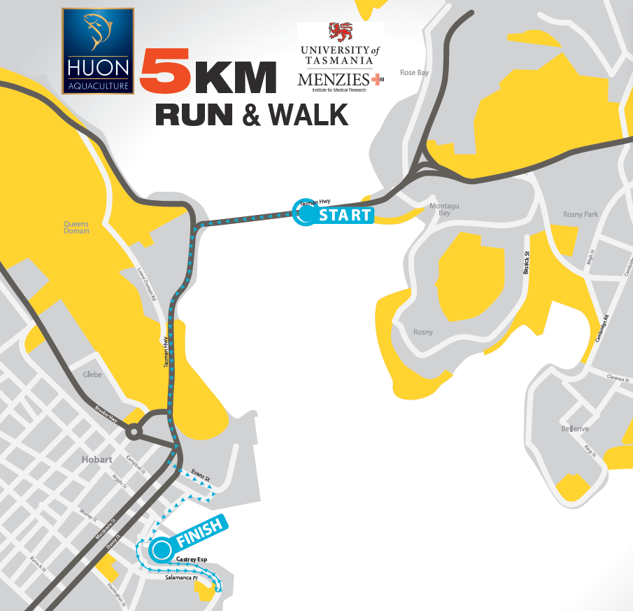 5km Course Map