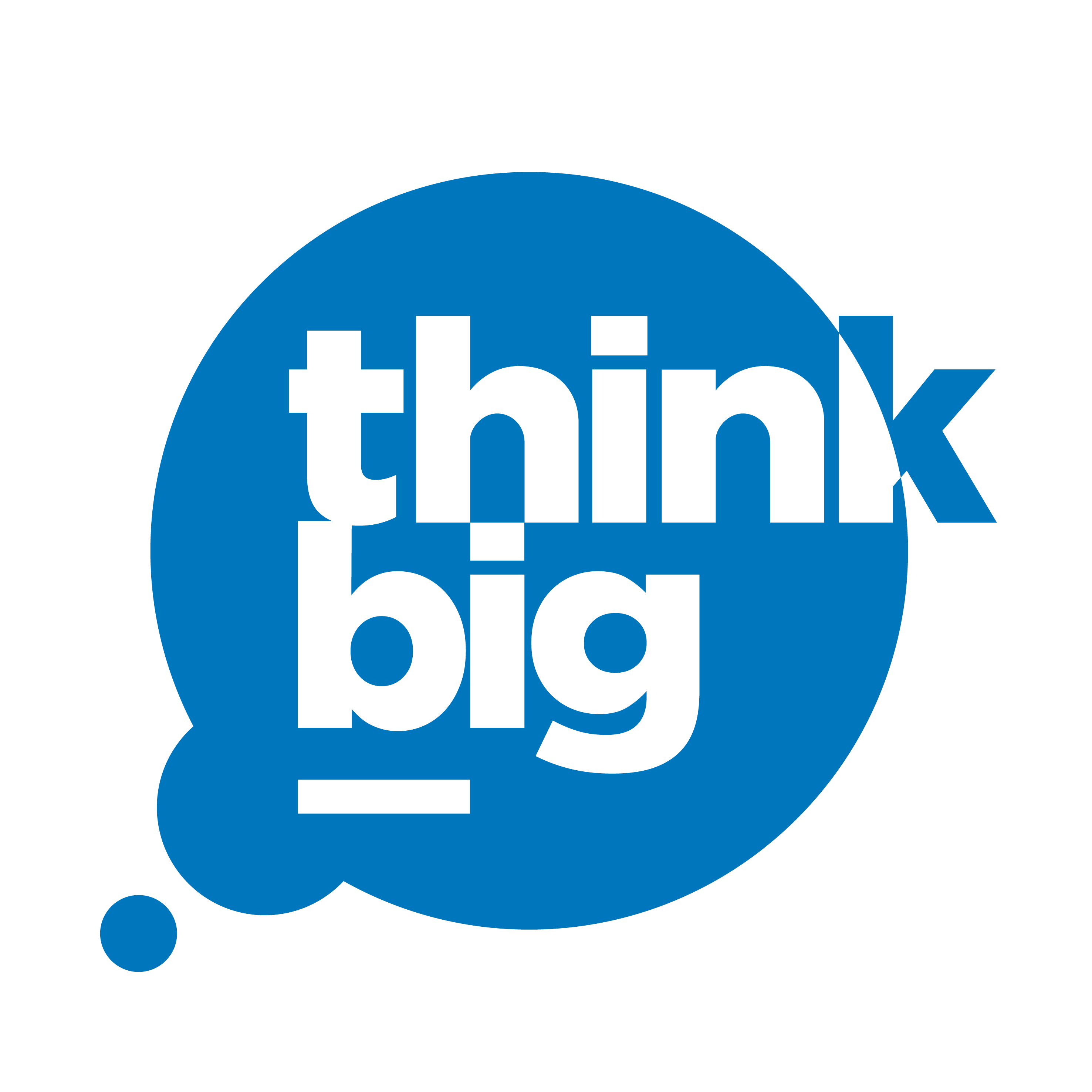 think big printing logo