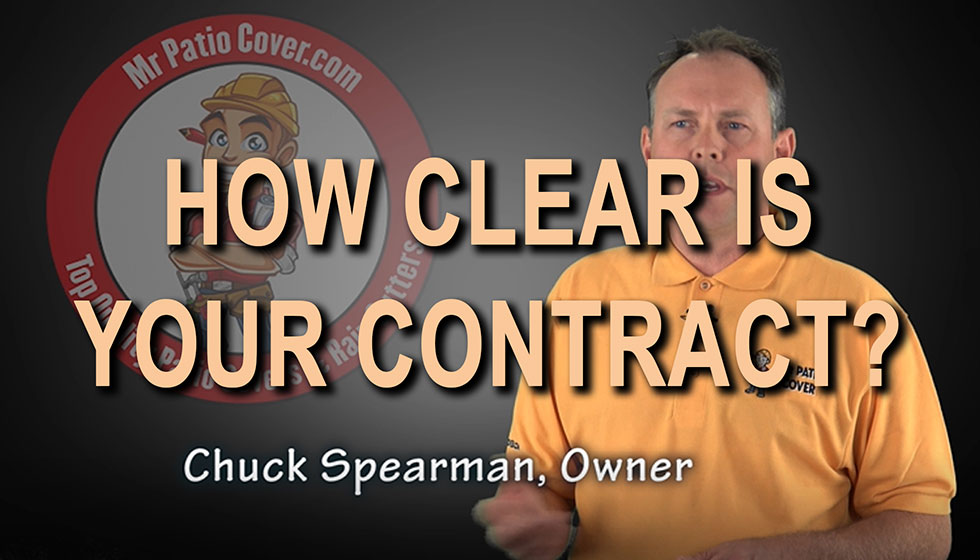 How clear is your contract?