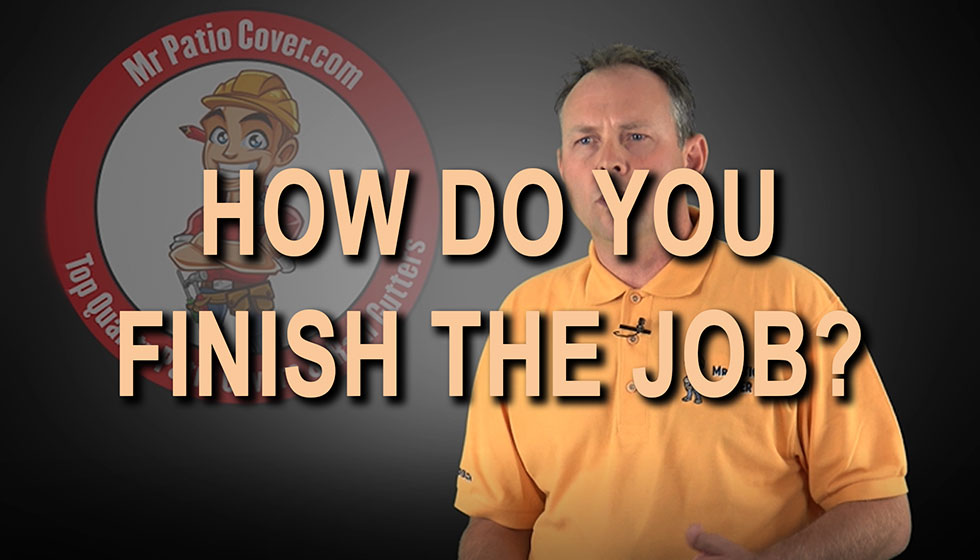 How do you finish the job?