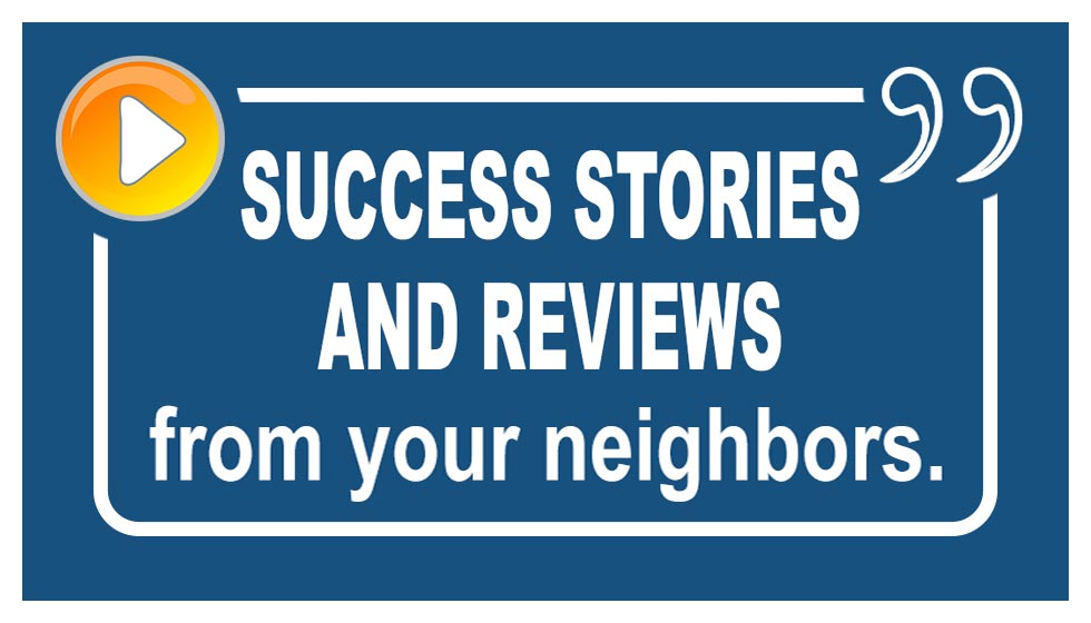 Success stories and reviews