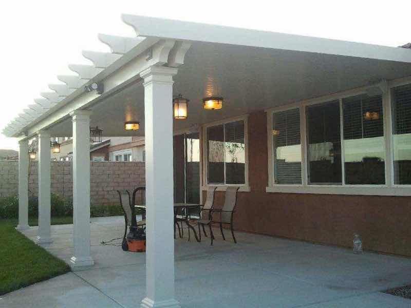 Patio cover installed in Jurupa Valley CA