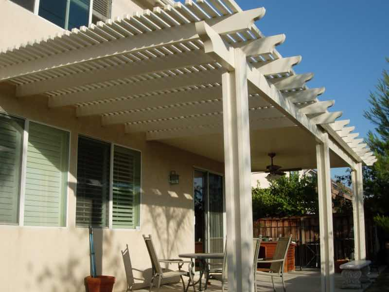 Patio cover installed in Mira Loma CA