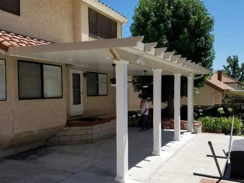 Patio cover installed in San Bernardino CA