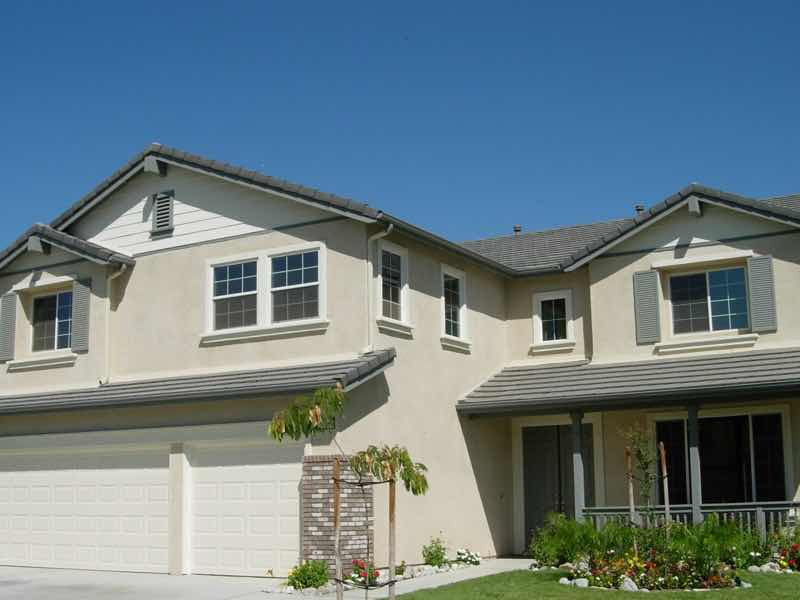 Rain gutter installed in Chino CA