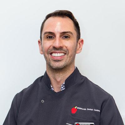 Dr Davide Tonizzo Whifords Dental Team