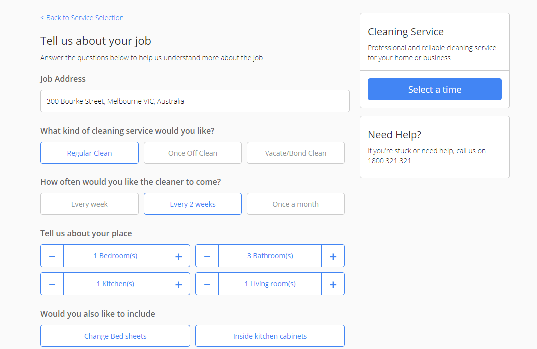 Work from home filling out forms