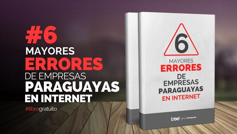 [E-book] - 6 Errores de Empresas Paraguayas en Internet
