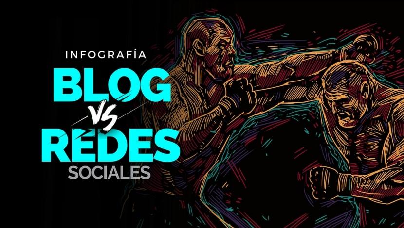 Marketing Digital: Blogs vs Redes Sociales [Infografía]