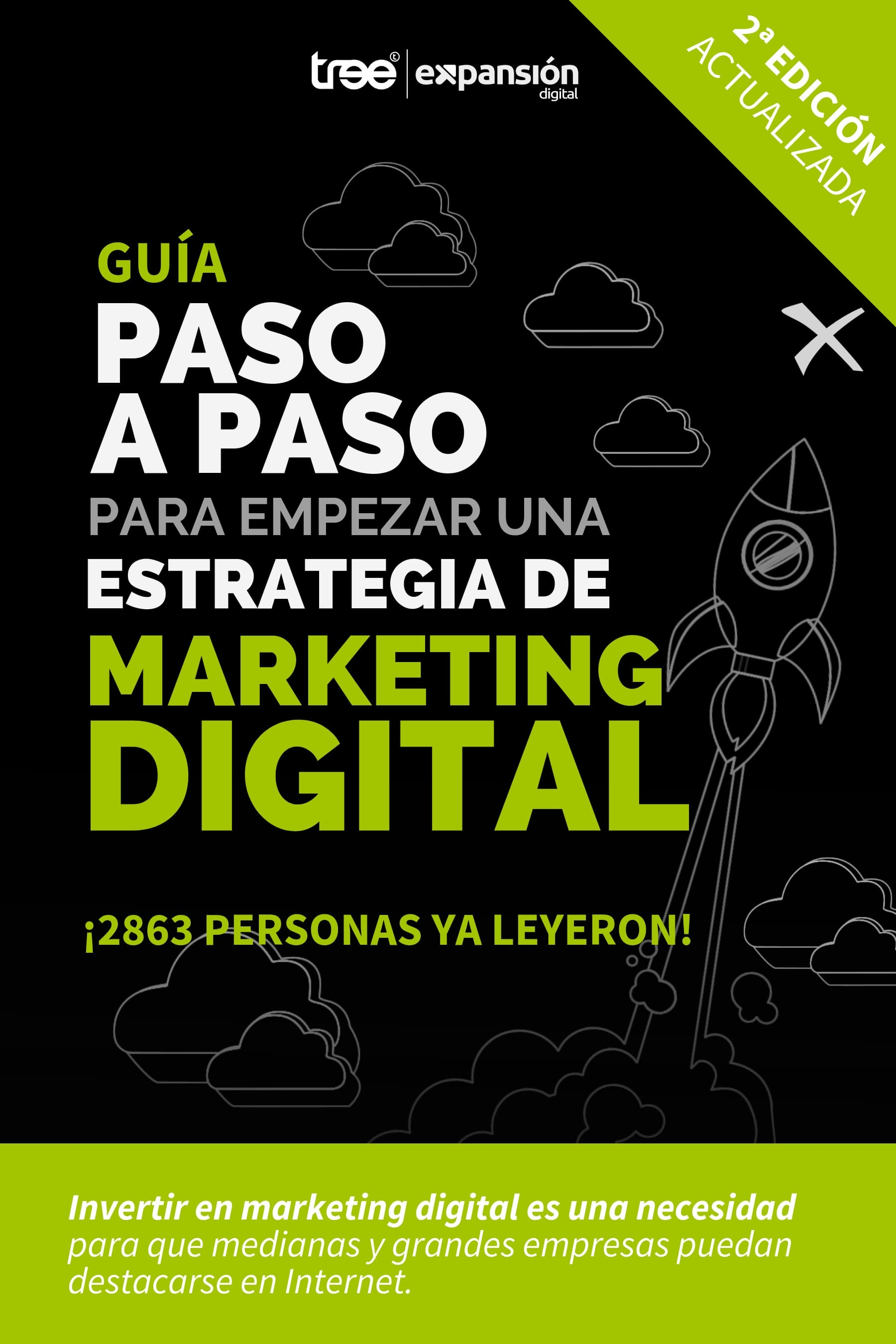 Gratuito - Ebook: El paso a paso para empezar una estrategia de marketing digital