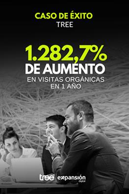 Gratuito - Caso Tree - Más de 1272% de aumento en visitas orgánicas.