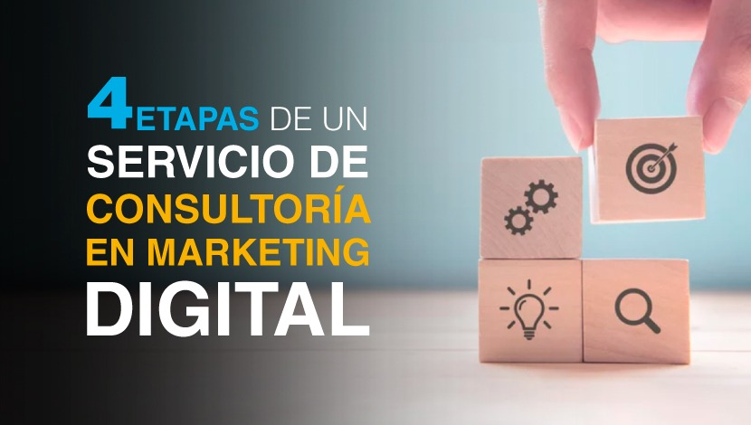 4 Etapas de un Servicio de Consultoría de Marketing Digital