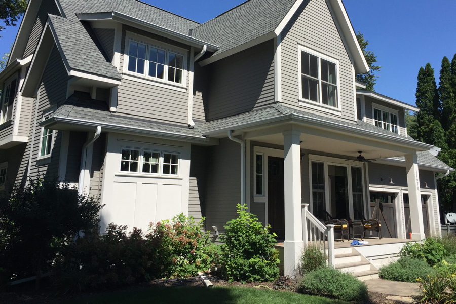 Home window cleaning completed on this Lake Minnetonka home.